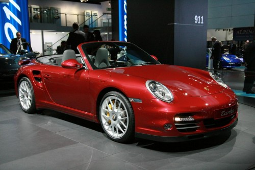 Porsche 911 Turbo live at Frankfurt 2009