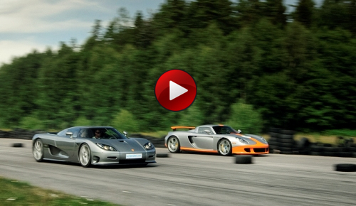 Porsche Carrera GT vs Koenigsegg CCR Evolution