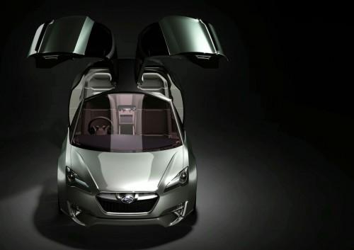 Subaru Hybrid Tourer Concept prelaunch renderings