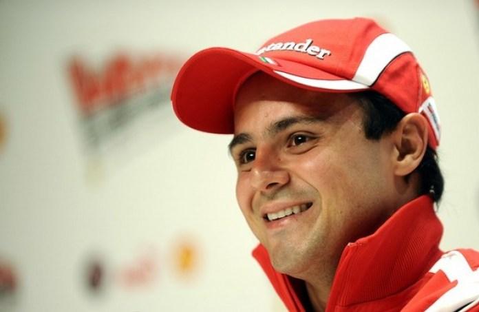 Ferrari's Brazilian Formula One driver F