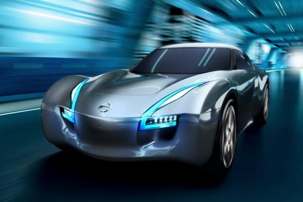 Nissan ESFLOW EV sports car concept