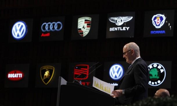 Volkswagen AG's chairman Piech speaks during annual shareholders meeting of Volkswagen AG in Hamburg