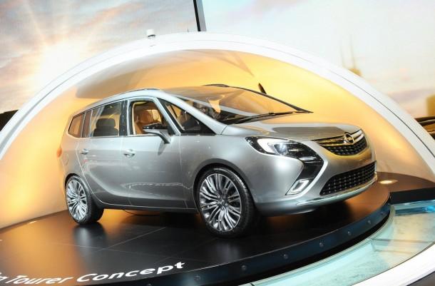 2011 Opel Zafira Tourer Concept Autoblog