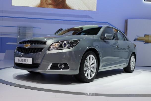 Chevrolet Malibu Live in IAA 2011