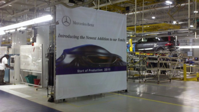 Mercedes-Benz to build MLC-Class SUV at Alabama plant