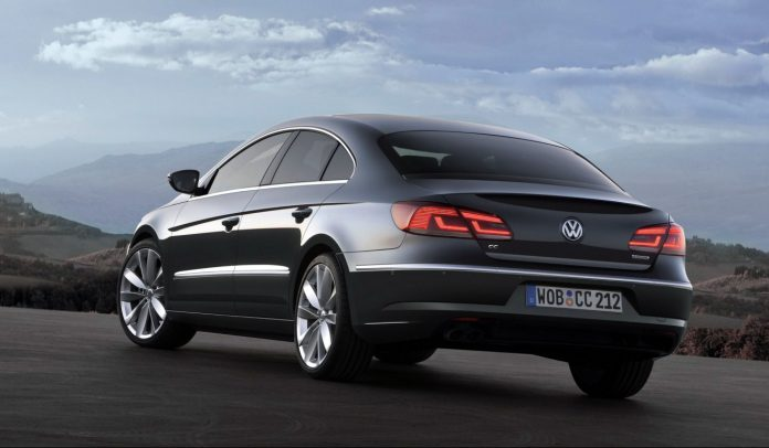 Volkswagen CC Facelift 2013