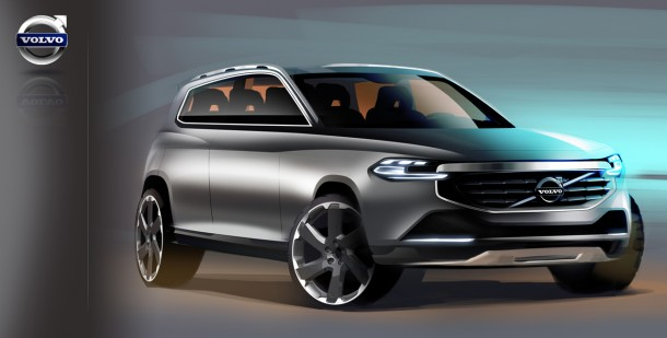 Volvo XC90 2014 sketches