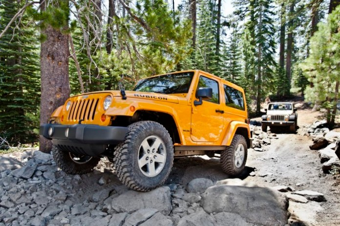 2012 Jeep Wrangler Rubicon and 2012 Jeep Wrangler Unlimited Rubi