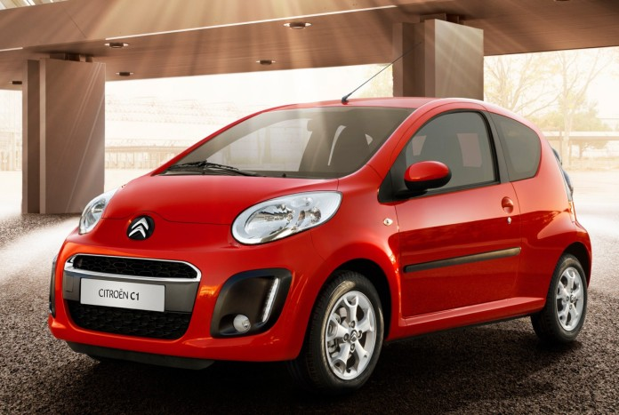Citroen C1 Facelift 2012
