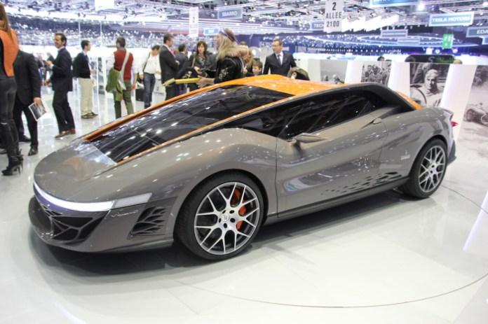 Bertone Nuccio Concept Live in Geneva 2012
