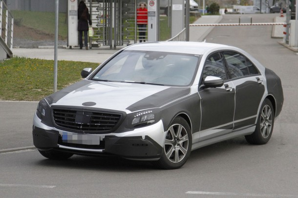 Mercedes S-Class 2013 Spy Photos