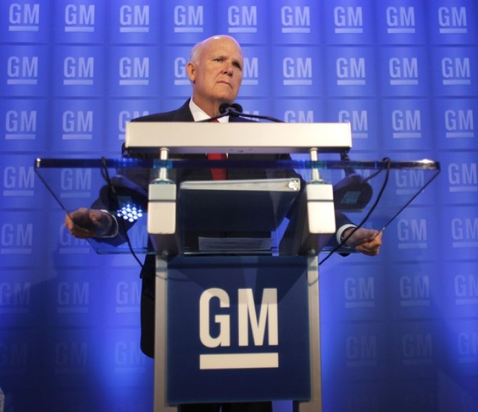 General Motors Chief Akerson Addresses Annual Shareholders Meeting