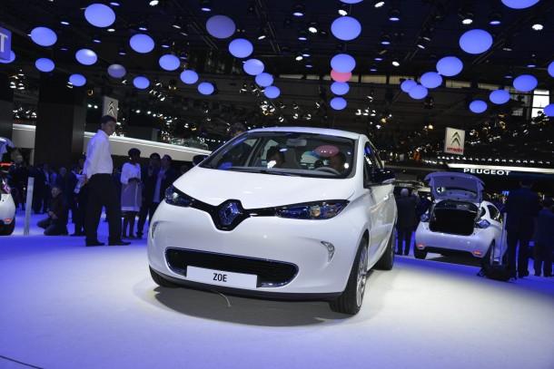 Renault Zoe EV Live in Paris 2012