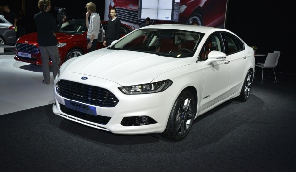Ford Mondeo Live in Paris 2012