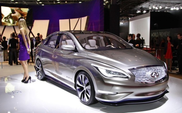 Infiniti LE Concept Live in Paris 2012