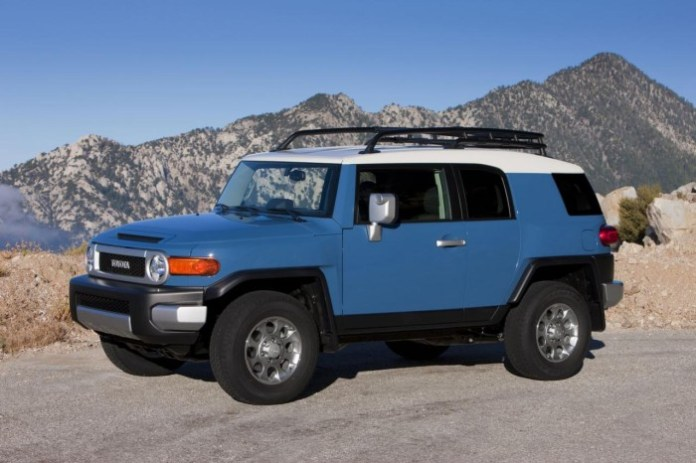 Toyota FJ Cruiser Trail Teams Special Edition