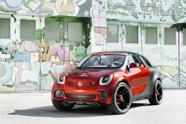 smart forstars concept vehicle