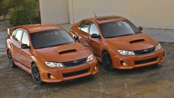 Subaru WRX and WRX STI special editions