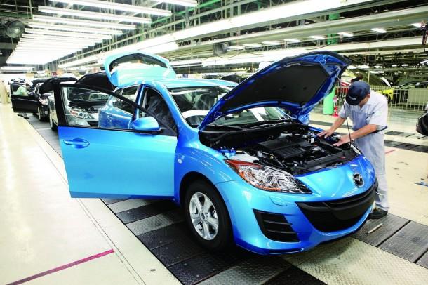 Mazda plant