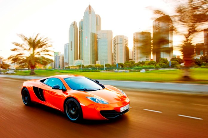McLaren MP4-12C Middle East Car of the Year 2012
