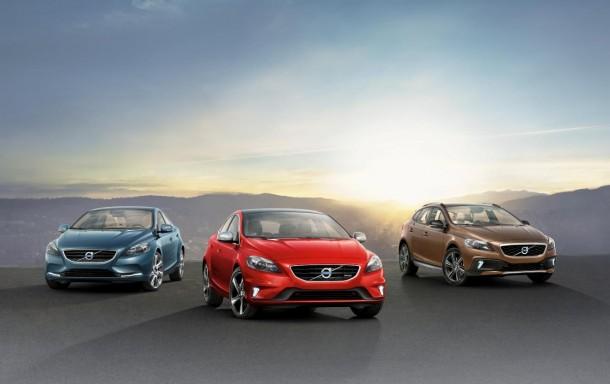 Volvo V40 lineup