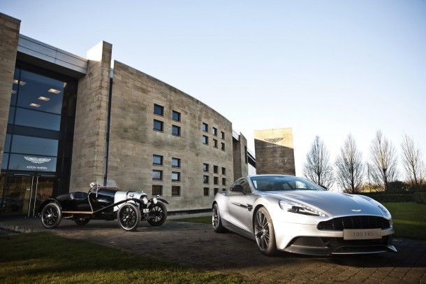 Aston Martin celebrates its first 100 years (2)