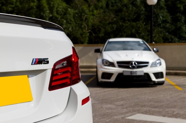 BMW M5 F10 and Mercedes C63 AMG Black Series