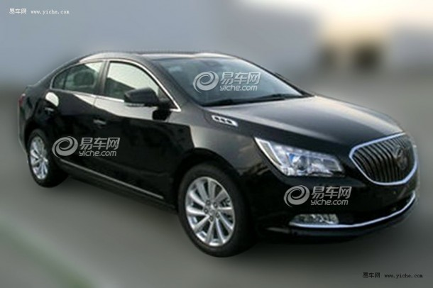 Buick LaCrosse Facelift 2014 Spy Photos (1)
