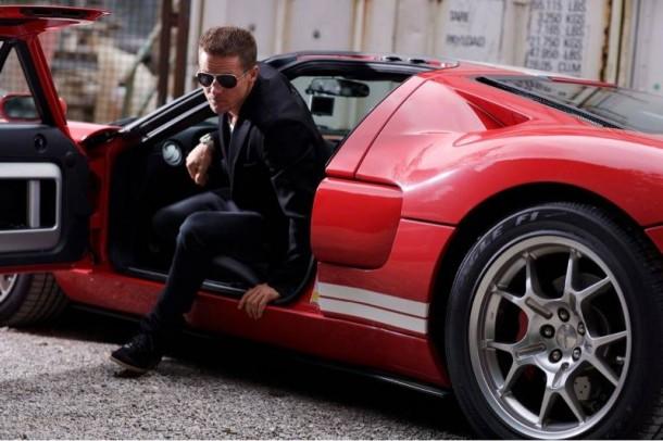 Felix Baumgartner Drives a Ford GT