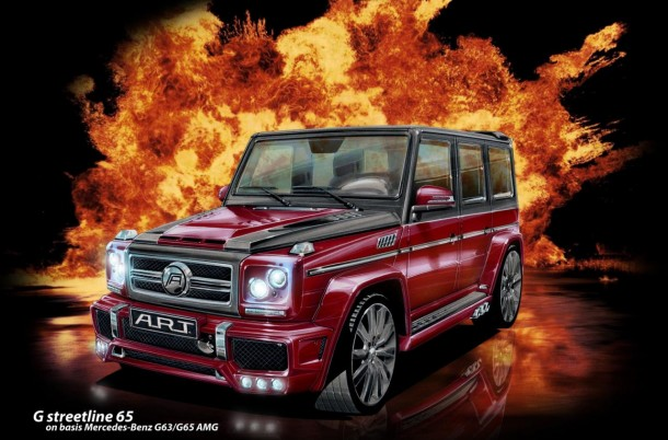 Mercedes-Benz G63/G65 AMG by A.R.Y