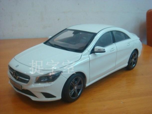 Mercedes CLA miniature car (1)