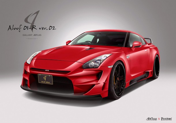 Nissan GT-R Aloof 01-R Version 2 by Gallant Abflug (1)