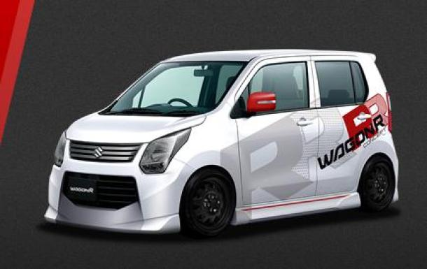 Suzuki concepts for Tokyo Auto Salon 2013 (1)