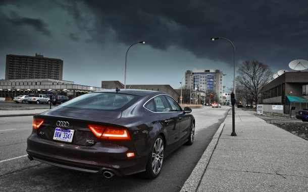 2012 Audi A7 Rear Right View