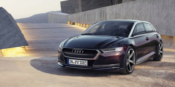 Audi A6 Sportback e-tron Concept