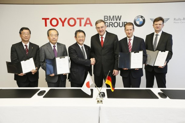 BMW Group and TMC sign Binding Agreements (1)