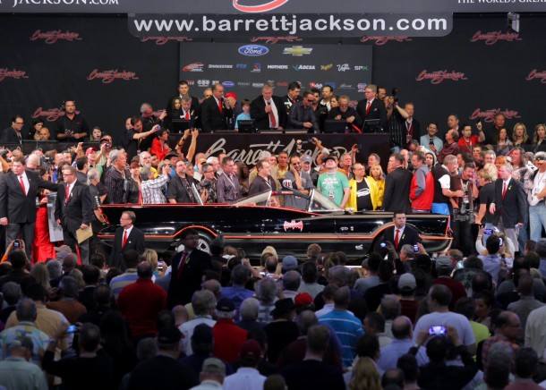 Barrett-Jackson batmobile