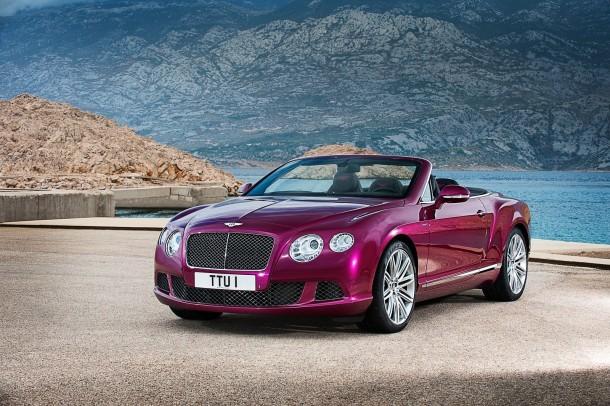 Bentley Continental GT Speed Convertible (2)