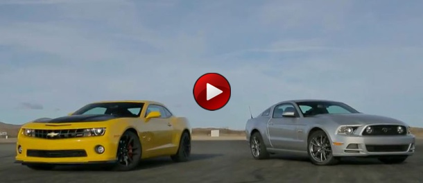 Chevrolet Camaro SS 1LE Vs Ford Mustang GT Track Pack