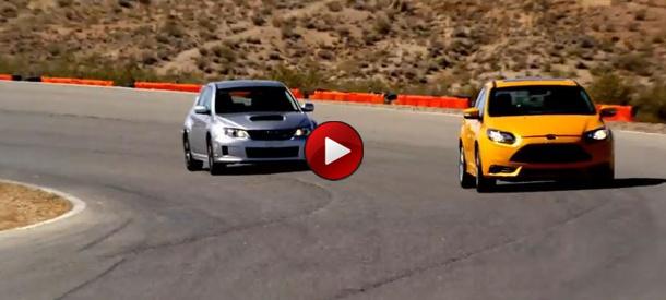 Ford Focus ST Vs Subaru WRX