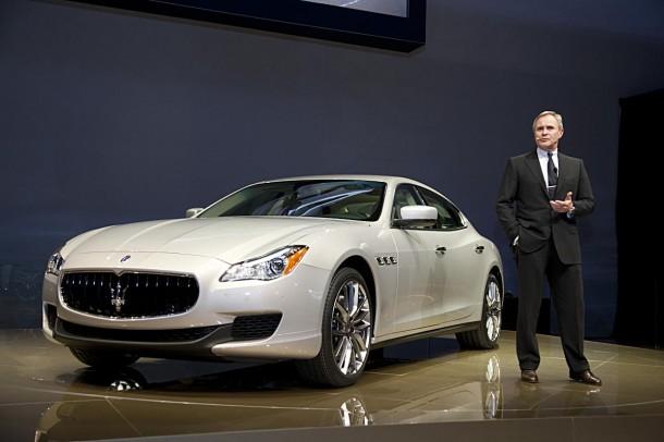 Maserati Quattroporte live in Detroit (2)