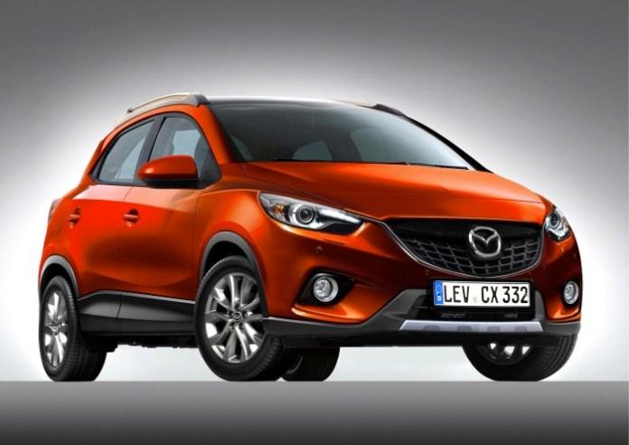 Mazda-CX-3-rendering