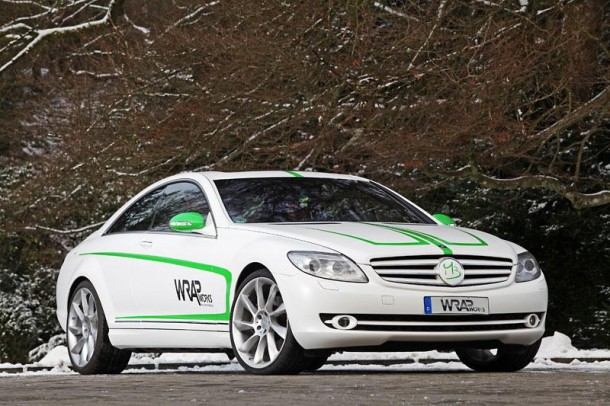 Mercedes-Benz CL500 by Wrap Works (1)