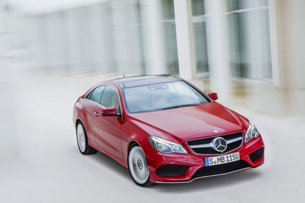 Mercedes E-Class Coupe and Cabriolet Facelift 2013 (12)