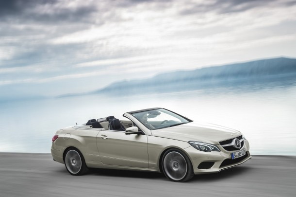 Mercedes E-Class Coupe and Cabriolet Facelift 2013 (8)