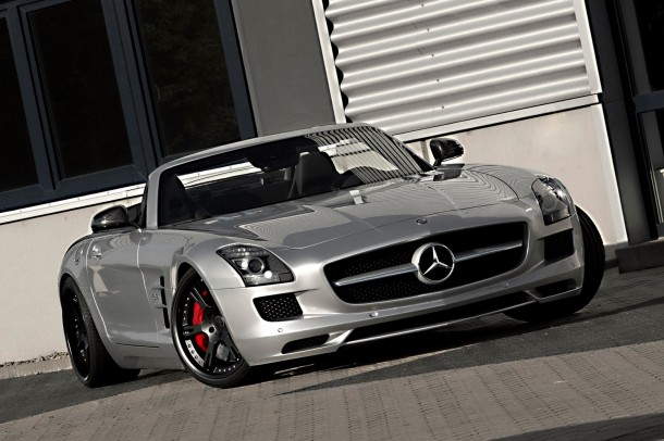 Mercedes SLS AMG Roadster by Wheelsandmore