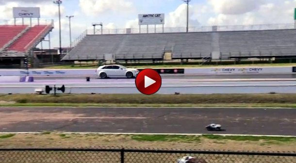 RC Car vs Cadillac CTS-V