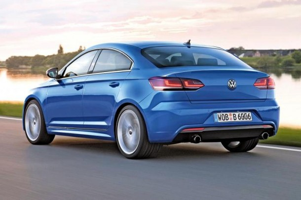Volkswagen Golf Coupe Rendering (2)
