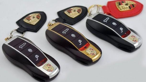 panamera key phone