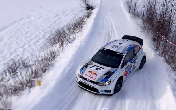 Drone at Rally Sweden 2013